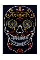Application Mexican Skull 7,9in x 11,8in for clothes